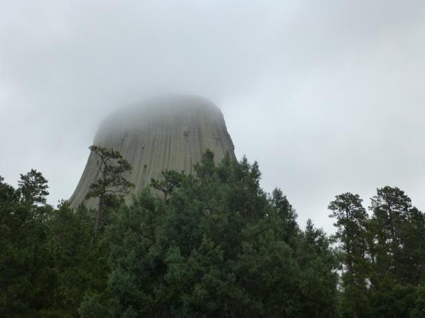 Devil's Tower.